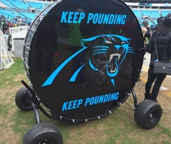 Let's go Panthers, Keep Pounding!