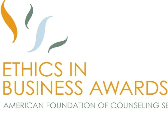 The Ethics in Business Awards luncheon is Nov. 12 at