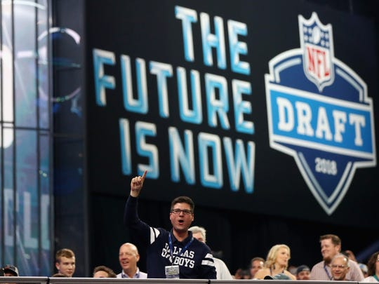 Next week's NFL Draft will happen via phone and internet.