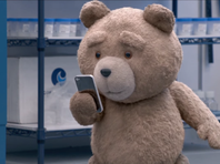 "Ted, the talking teddy bear, appears in ""Ted 2"""