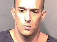 Michael Scott Wolfe, 35, of Titusville, Fla., is accused of vandalizing a Florida mosque on New Year's Day 2016.