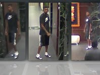 Security officers in downtown Dallas businesses are on alert for a man who is sneaking around office buildings and stealing.