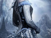 Emily Blunt as the Ice Queen.