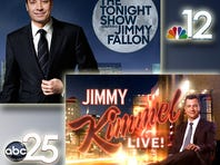 Watch clips from Jimmy Fallon and Jimmy Kimmel and don't miss late night after First Coast News at 11:00 on NBC 12/ABC 25.