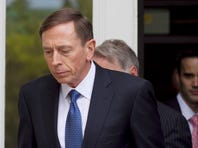 Former director of CIA and former commander of U.S. Forces in Afghanistan Gen. David Petraeus exits the federal courthouse after facing criminal sentencing on April 23, 2015 in Charlotte, North Carolina.   Petraeus faced criminal sentencing for giving classified information to his former mistress and biographer.