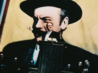 Orson Welles as Charles Foster Kane.