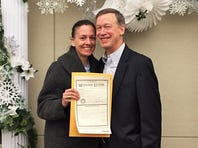 RAW VIDEO: Hickenlooper talks about his proposal, wedding plans