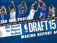 Kentucky men's basketball ties its own record with six picks in a single draft