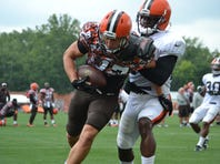 Wide receiver hopeful Josh Lenz has made his case for making Cleveland Browns' 53-man opening-day roster.