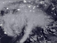 NASA-NOAA's Suomi NPP satellite snapped this image of the approaching blizzard around 2:35 a.m. EST on Jan. 22, 2016.