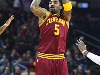 Despite his history against the Boston Celtics, Cleveland Cavs guard J.R. Smith's primary focus was on Tuesday's game.