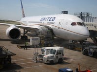 A United Airlines Boeing 787 Dreamliner is prepared for a flight at O'Hare International Airport after it arrived from Houston with United CEO Jeff Smisek, Boeing Company CEO Jim McNerney and more than 250 other passengers on board May 20, 2013 in Chicago, Illinois. The flight was the first passenger flight for the Boeing Dreamliner since it was grounded for electrical problems in January.  (Photo by Scott Olson/Getty Images)