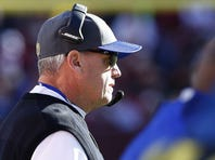 Rex Ryan coaching the Bills during Sunday's loss to Washington.