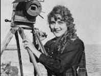 Photo of early film star Mary Pickford.