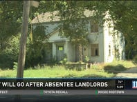 City will go after absentee landlords