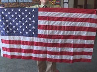 Field Elementary is celebrating its centennial, and they have a special flag to mark the occasion.