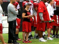 Red & White practice Aug. 8, 2015