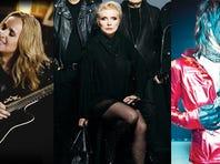 Melissa Etheridge, Blonde, Joan Jett & The Heartbreakers