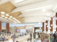 This December 2015 artist rendering shows upgrades coming to the Gerald R. Ford International Airport.