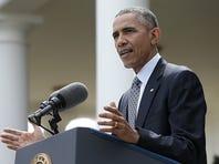 President Obama on April 2, 2015 in Washington, DC.