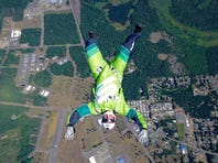 Luke Aikins plans to jump from 25,000 feet without a parachute Saturday evening in a stunt that will be aired live on Fox.