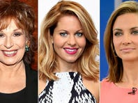 """Joy Behar, Candace Cameron Bure and Paula Faris will join """"The View"""" as co-hosts for the 19th season."""