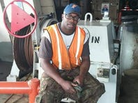 Crew member 'Bootsy' Clark