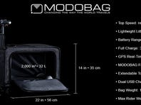Modobag. the luggage you can ride home.