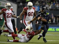 Scenes from Sidelines: Seahawks vs Cardinals