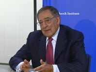 Leon Panetta was honored in Boise Sunday for his public service.