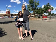 Note shames mother for using disability parking spot