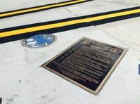 Love Field illuminates location where LBJ was sworn in