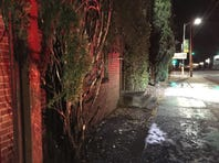 The Sacramento City Fire Department is investigating what caused a tree to catch fire against a building in Midtown.