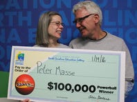 NC Lotto Winners Put On A Happy Face