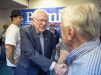 Bernie Sanders on June 12, 2015 in Des Moines, Iowa.