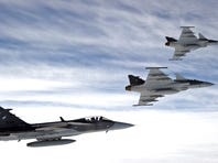 Saab's Next-Gen Gripen Fighter Jets Ready in May