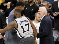 Spurs forward David West, beating Sacramento's DeMarcus Cousins on a jump ball last Saturday, scored a season-high 18 points against Minnesota on Wednesday night.