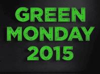 Green Monday Stock Image