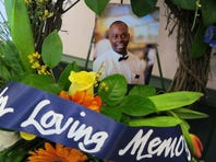 "A tribute to Marvin ""Word"" Day is displayed at the Camellia Grill, where the popular waiter worked since 1990."