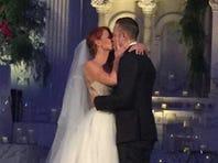 Tampa Bay Rays third baseman Even Longoria married Jaime Edmondson.