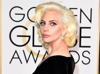 Lady Gaga arrives for the 73nd annual Golden Globe Awards, January 10, 2016, at the Beverly Hilton Hotel in Beverly Hills, California.