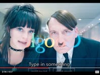 A new German film spoofs Hitler, who reappears in 2015.