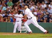 Travis Shaw and the Boston Red Sox battered Corey Kluber, and took the finale of a three-game series at Fenway Park Wednesday.