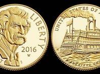 Mark Twain Silver Coin