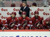 Game number 1,000 for Dave Tippett