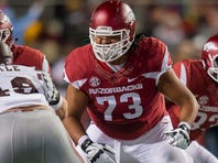 Senior offensive lineman Sebastian Tretola and junior tight end Hunter Henry earned All-SEC first team status, marking the 10th time in program history that a pair of Razorbacks have landed on the coaches' first team.