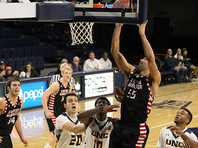 Venky Jois scored 25 points and 10 rebounds, but it was not enough as the Eags lost at Northern Colorado 96-90.
