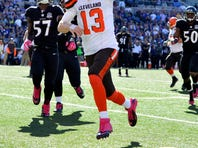 Josh McCown led the Cleveland Browns to a comeback win over the Baltimore Ravens at M&T Bank Stadium Sunday.