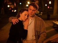 """Saoirse Ronan is at the center of a moving story about a young Irish girl navigating her way through the '50s in """"Brooklyn."""""""