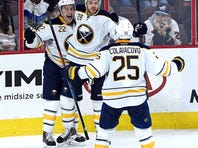 Sabres beat Flyers in OT